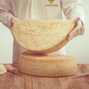 How to cut Grana Padano wheels