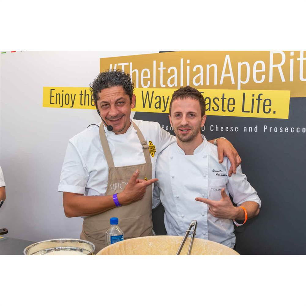 Chef Francesco Mazzei e Chef Danilo Cortellini