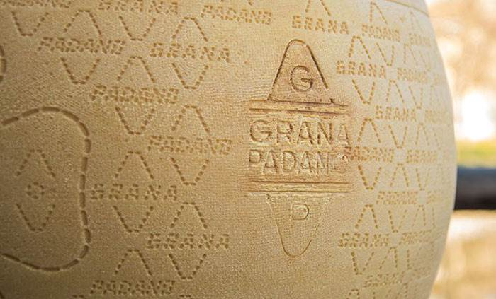 """Grana"" can only be ""Padano"""