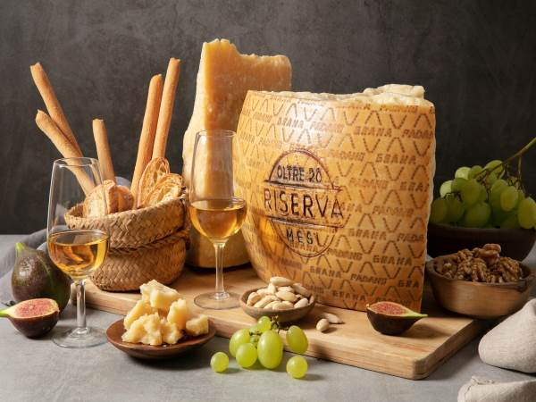 Grana Padano lunghe stagionature