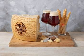 Which beers should be combined with Grana Padano PDO?