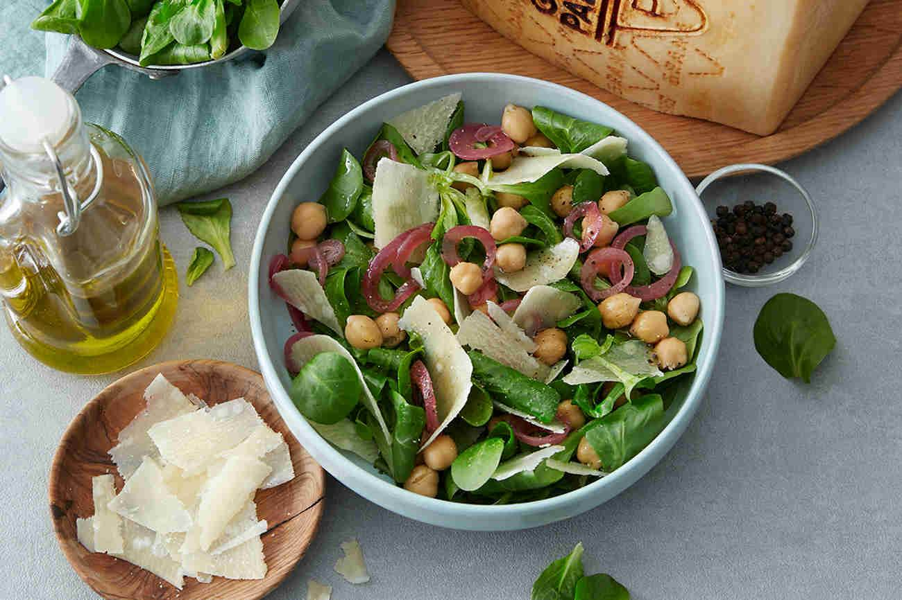 Chickpea Salad with Grana Padano