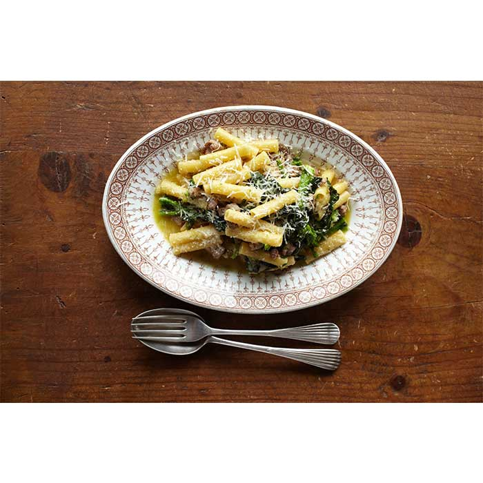 Ziti with Broccoli Rabe and Sausage