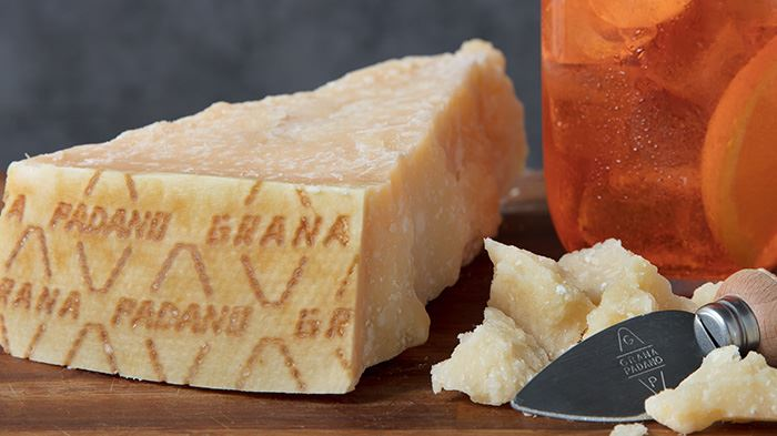 Grana Padano aged more than 16 months