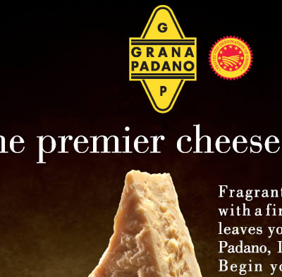 "Campaign ""The premier cheese of Italy"" 2010-2012"